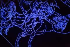 Grotte stellaire éphémère pour le Musée de la Chasse, Julien Salaud