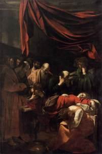 Le Caravage, La Mort de la Vierge, Paris, musée du Louvre.