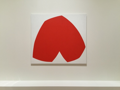 Ellsworth Kelly, Red White, 1962, SFMOMA
