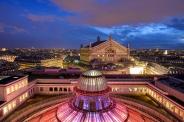 Opéra Garnier vu des Galeries Lafayette - © Michel Eisenlohr