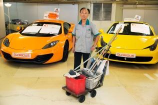 HONG KONG. Car Salesroom. 2013.