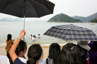 HONG KONG. Repulse Bay. Baptism. 2013.
