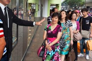 HONG KONG. Canton Road. 2013.