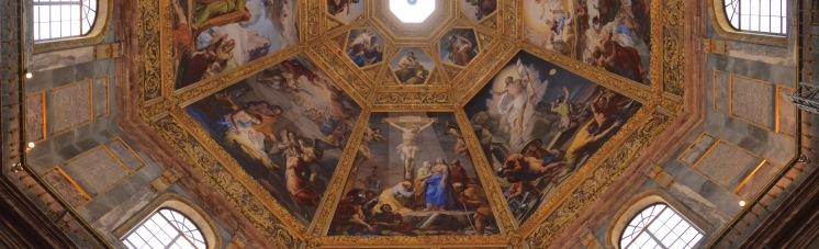 Coupole de la chapelle des Princes, basilique San Lorenzo, Florence. © Damien Tellas
