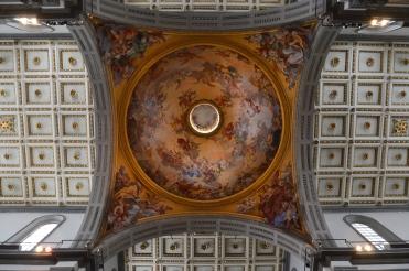 Coupole de l'église San Lorenzo, Florence. © Damien Tellas