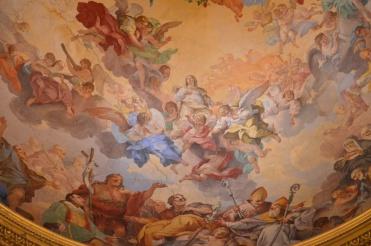 Coupole de l'église San Lorenzo (détail), Florence. © Damien Tellas