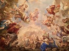 Voûte de la Sala Giordano au Palazzo Medici-Riccardi (détail). © Damien Tellas