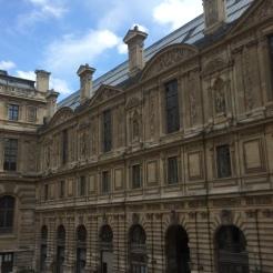 Palais du Louvre, Façade sud de la cour Lefuel, v. 1850. ©Damien Tellas