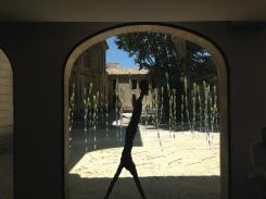 L'Homme qui marche II d'Alberto Giacometti / © Benjamin Hoffman