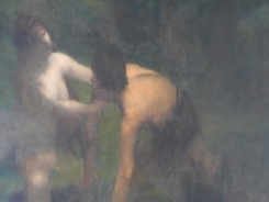 Alexandre Falguière, Hylas et les nymphes (détail)