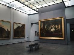 Salles XVIIIè - Vue sur le Corésus et Callirhoé de Fragonard