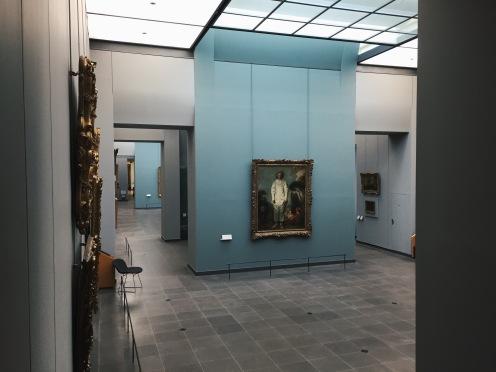 Salles XVIIIè - Vue sur le Pierrot de Watteau