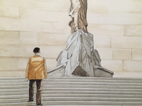 Jirô Taniguchi, Les Gardiens du Louvre