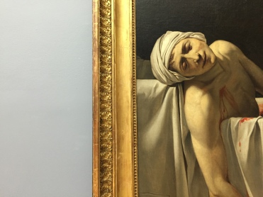 Jacques-Louis David - Marat assassiné (détail)