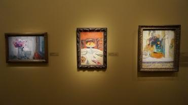 Vue de l'allée Bonnard, à droite: Pierre Bonnard, Le Pot Provençal, 1930