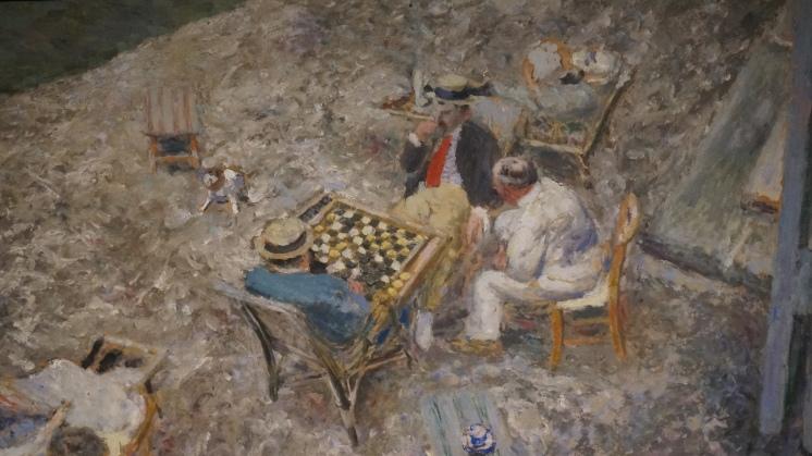 Edouard Vuillard, Partie de dames à Amfreville (détail)