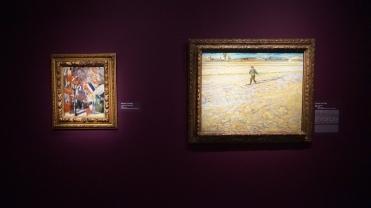 Vincent Van Gogh, La Fête du 14 juillet à Paris, 1886 et Vincent Van Gogh, Le Semeur, 1888