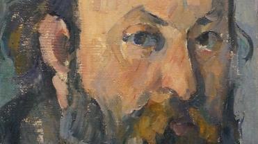 Paul Cézanne, Portrait de l'artiste, 1877-1878 (détail)