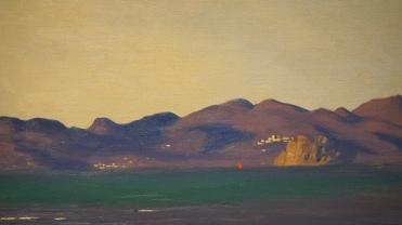 Félix Vallotton, L'Estrèle et la baie de Cannes, 1925 (détail)