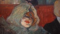 Henri de Toulouse-Lautrec, En cabinet particulier (Au Rat Mort), vers 1899 (détail)