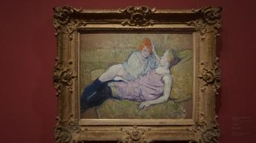 Henri de Toulouse-Lautrec, Le Sofa, vers 1894-1896