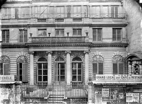 Aux archives nationales les d cors de la chancellerie d orl ans pointculture for Decoration du facade orleans