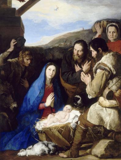 Jusepe de Ribera, L'Adoration des bergers, 1650