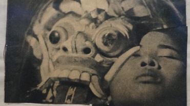 André Breton, Victor Brauner, Oscar Dominiguez, Max Ernst, Jacques Hérold, Wifredo Lam, Jacqueline Lamba et André Masson. Dessin collectif, 1940 (détail)