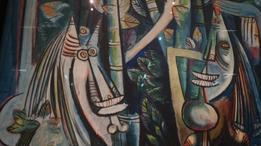 Wifredo Lam, La Jungle, 1943 (détail)