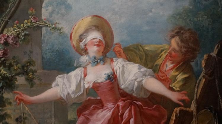 Jean-Honoré Fragonard, Le Colin-Maillard, vers 1754-1756 (détail)