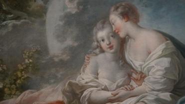 Jean-Honoré Fragonard, Jupiter et Calisto, vers 1755-1756 (détail)