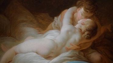Jean-Honoré Fragonard, L'Instant désiré, vers 1770 (détail)