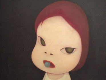 Yoshitomo NARA, Dans la profonde flaque II, 1995 (détail)