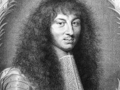 Nicolas de Poilly, Portrait de Louis XIV, v. 1660-1670, état achevé, pointe sèche et burin, Paris, Bibliothèque nationale. © Damien Tellas