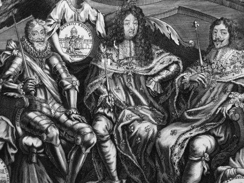 Nicolas Bocquet et Jean-Baptiste Ier Nolin, d'après N. Bocquet, Histoire générale du siècle, 1700-1701, eau-forte et burin, Paris, Bibliothèque nationale. © Damien Tellas