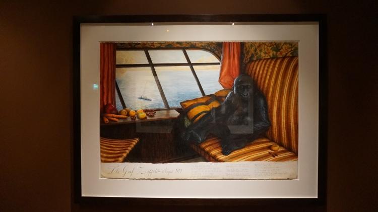 Walton Ford, The Graf Zeppelin, 2014