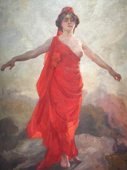 Aldred Roll, La Jeune République, 1908, Musée d'Orsay