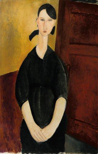 Amadeo Modigliani, Paulette Jourdain, 1919