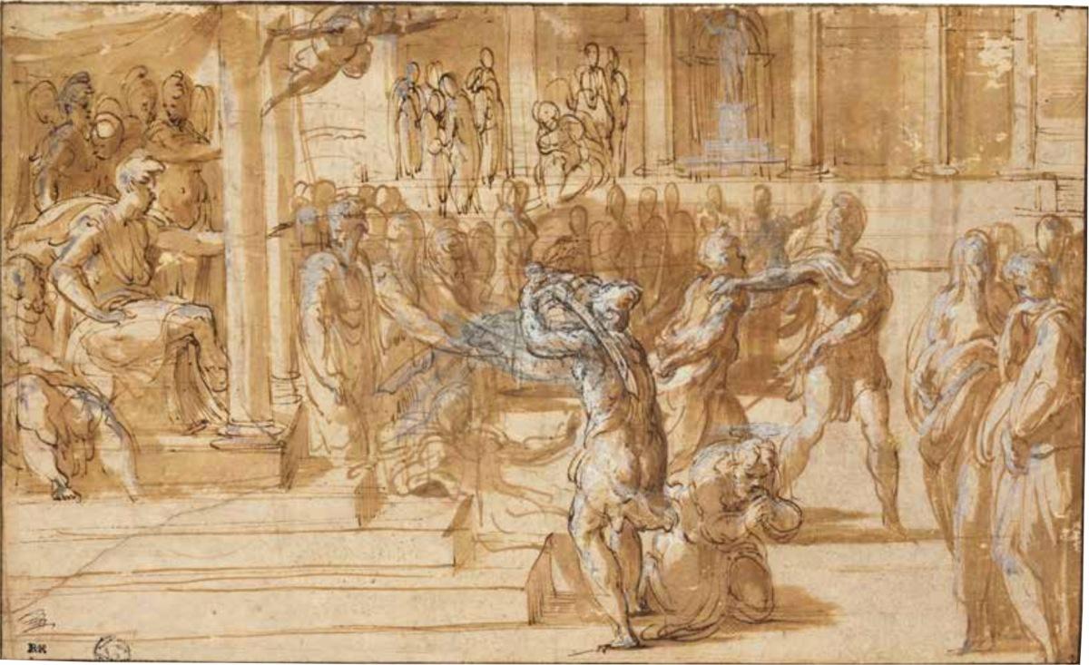Il Parmigianino : les dessins du Louvre