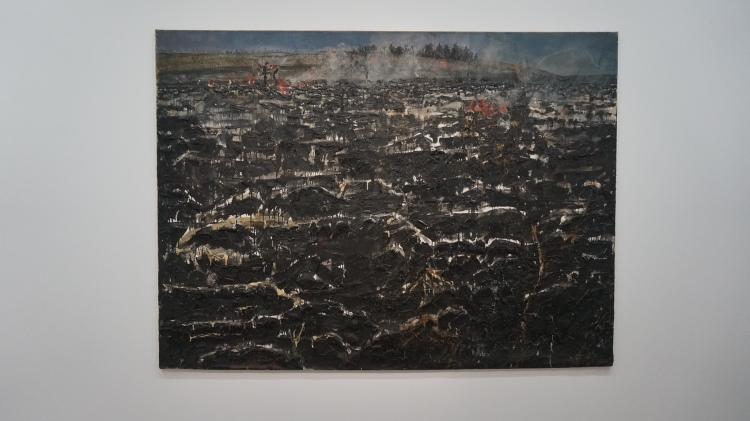 Anselm Kiefer, Maikäfer flieg! [Hanneton vole!], 1974