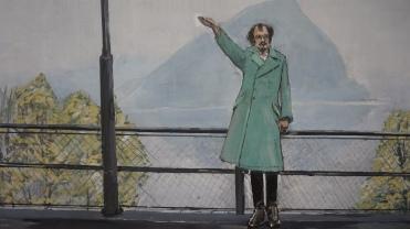 Anselm Kiefer, Heroisches Sinnbild IV [Symbole héroïque IV], 1970 (détail)