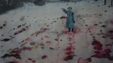 Anselm Kiefer, Eis und Blut [Glace et sang], 1971 (détail)