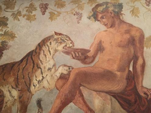 Eugène Delacroix, Bacchus et un tigre, 1834