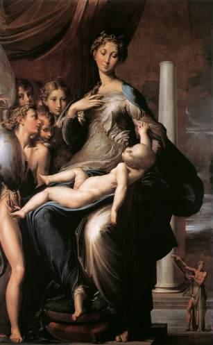 Parmigianino, La Madone au long cou, Florence, Galleria degli Uffizi