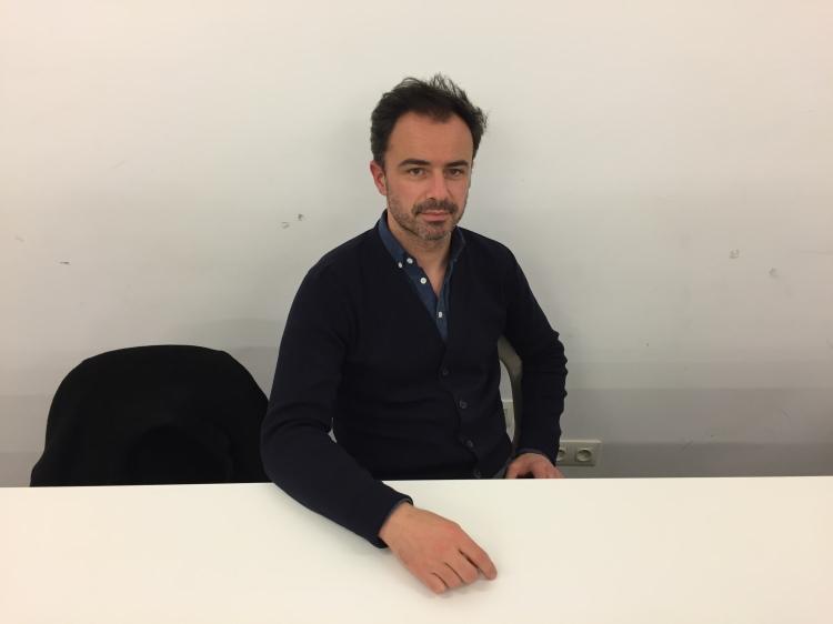 Pierre-Alain Trévelo, de l'agence TVK, l'un des architectes qui a rénové la place de la République en 2013