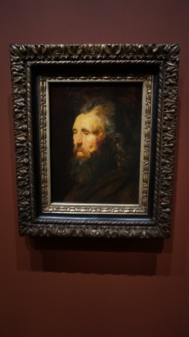Pierre Paul Rubens, Etude de tête d'homme, vers 1616-1619