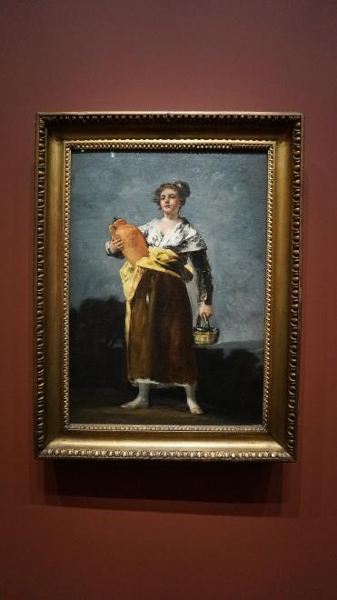Francisco de Goya, La porteuse d'eau, entre 1808 et 1812