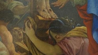 Michel Dorigny, Christ en Croix, 1647 (détail)