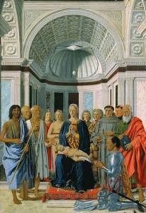 Piero della Francesca, La Conversation sacrée, 1472