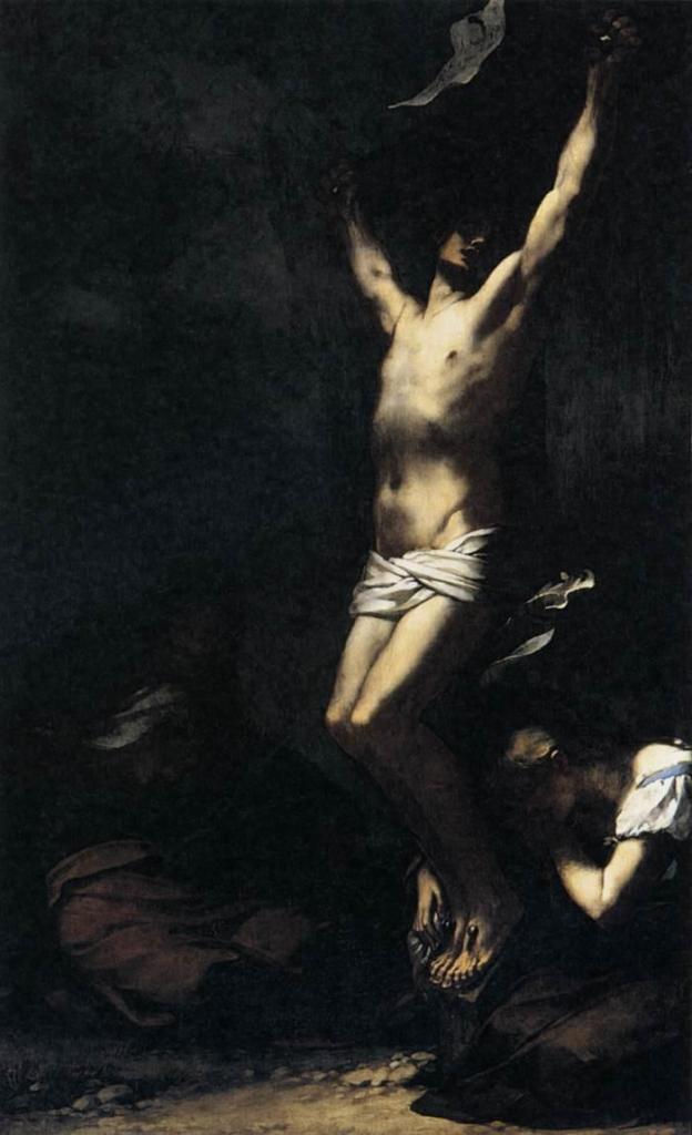 Pierre Paul Prud'hon, Christ sur la Croix, 1822